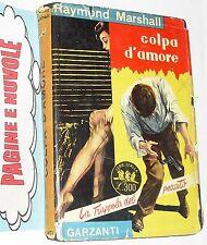 marshall - COLPA D'AMORE - serie gialla - garzanti - N. 30 (1954)