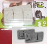 Scibor CPBA0011 Basing Kit SF (6) Conversion Parts Sci-Fi Panels Terrain Bits
