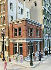 LUNDE STUDIOS HO SCALE CAL'S CAFE STRUCTURE BUILDING KIT   BN   35
