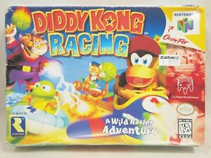 Diddy Kong Racing (Nintendo 64   N64) Authentic BOX ONLY