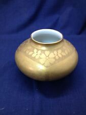 B & Co Limoges Aesthetic Gold Decorated Vase