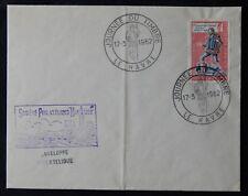 Y50* Enveloppe JOURNÉE DU TIMBRE Cachet LE HAVRE 1962 n°1332