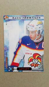 2000-01 Cardset Finland #163 Antti Tormanen Jokerit Helsinki