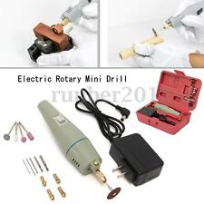17PCS Electric Rotary Mini Drill & Bit Set Grinder Polishing Tool Professional