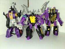 Transformers Generations Insecticons Lot KickBack Skrapnel Bombshell