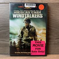 Windtalkers (DVD,2002,Widescreen) Nicolas Cage, Adam Beach,