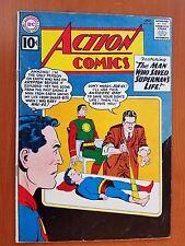 Dc Action Comics, Vol. 1 # 281 (Oct, 1961) The Man Who Saved Kal-El's Life!