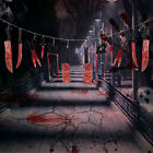 2x Halloween Hanging Bloody Knives Haunted Scary Horror Banner Props Party Decor