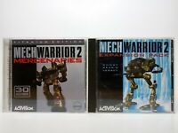 2 PC GAME LOT MechWarrior 2: Expansion Pack Ghost Bear's Legacy and Mercenaries