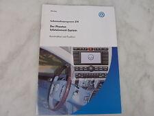 SSP 274 VW Der Phaeton Infotaiment-System, Handbuch, Selbststudienprogramm