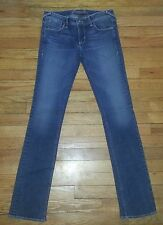 2633p NWOT Sz 27 30x33 Blue DIVINE RIGHTS OF DENIM Distressed Skinny Jeans!