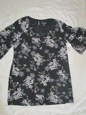 NEW! $110 jessica Howard size 24W womens plus size dress flower black white blue