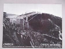 Owen Morrel Art Gallery Exhibit PRINT AD - 1980