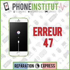 Reparation erreur 47 itunes iphone 4
