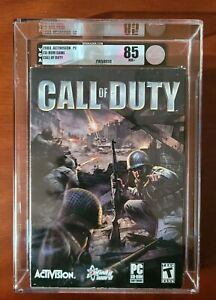 2003 Call of Duty Factory Sealed VGA 85 First Print Early Production PC 1 US