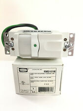 Hubbell Occupancy Sensor Wall Switches 500W 120V PIR RMS101W