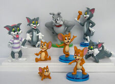 Tom And Jerry Figure Cartoon Cat & Mouse Toys Set of 9pcs Cute Anime Child Gift