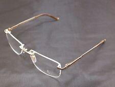 Authentic Charriol Eyeglasses Frame Rimless PC7397A C2 Gold Titanium France Made