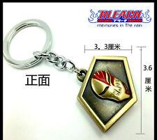 Anime Bleach KUROSAKI IGHIGO Pass keychain Metal keyring pendant Charm