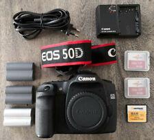 Canon EOS 50D 15.1MP Digitalkamera - Schwarz (Nur Gehäuse)