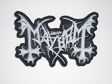 MAYHEM BLACK METAL EMBROIDERED PATCH