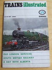 TRAINS ILLUSTRATED AUTUMN 1968 OLD LONDON SERVICES SOUTH BRITISH RAILWAY ALBERTA