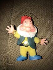 Bashful Character Christmas Ornament—Walt Disney Productions—Made in Hong Kong