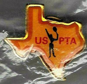 USPTA Texas Pin United States Professional Tennis Association