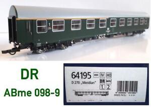 Roco 1:87 DR Y - Wagen 2. Klasse ABme ...098-9 = aus SET 64195.C D 270 Meridian1