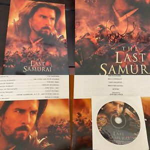Tom Cruise Signed The Last Samurai Presskit Folder & Set