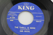 Earl Bostic: The Thrill is Gone / April in Portugal   [VG++ Copy]