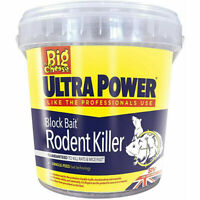 Big Cheese Rat & Mouse Poison Mice Block Bait Rodent Killer 15 Pack 20g
