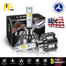 H1 LED Headlight Conversion Kit 12000LM Hi Lo Beam Bulb White 6000K Yellow 3000K