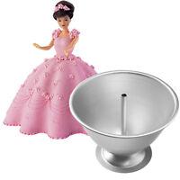 Wilton Wonder Mold Mould Pan Tin Set Doll Princess Barbie Cake Decoration