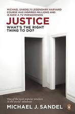 Justice: What's the Right Thing to Do?, Good Condition Book, Michael Sandel, ISB