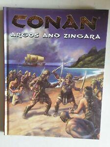 Argos & Zingara Conan hardcover MGP fantasy RPG roleplaying book mongoose