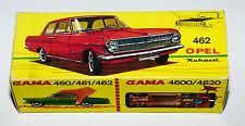 Reprobox pour GAMA Opel Rekord Nr. 462 et autres Modèles Opel