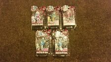 Lot of 5 Monster High Mini Figures (NEW) Laguna Blue, Frankie Stein and more