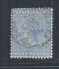 South Africa - Natal QV 1882-89 sg100 Used (wmk Crown CA)