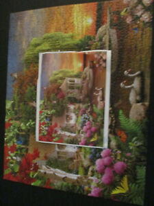 """SunsOut """"Lighthouse by the Sea"""" Imge World 550 Piece Puzzle Complete EX Cond."""