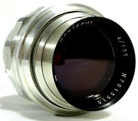 Jupiter-11 135mm F/4 Manual Focus Lens M39 Leica UK Fast Post