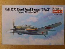 """1:144 Minicraft N° 14436 Aichi B7A2 Ryusei Attaque Bombardier """" GRACE """"."""
