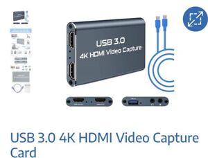 usb 3.0 4k hdmi video capture