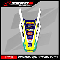HUSQVARNA TC/FC 2019 REAR FENDER DECAL MX GRAPHICS - TI