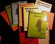 1978 - 1987 COLLECTION DENMARK ORNITHOLOGY STIGSNAES INDUSTRIAL AREA HABITAT