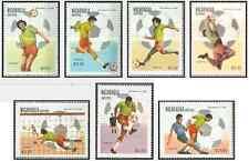 Timbre Sports Football Nicaragua 1175/9 PA973/4 ** lot 17028