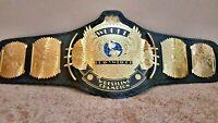 WWF Classic Gold Winged Eagle Championship Belt Adult Size (2MM)