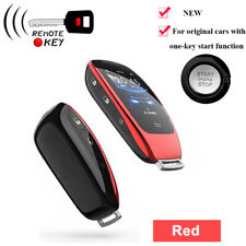 Modified LCD Screen Smart Remote Key Shell for Mercedes-Benz BWM Toyota - OBD
