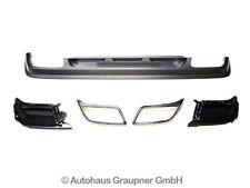 VW Tiguan II Heckdiffusor Granitgrau Chrom Umbau Nachrüstung Set