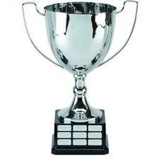 "Elite Perpetual Cup Presentation Trophy Silver 12 5/8"" ,Free p&p & Engraving"